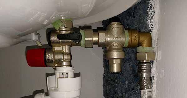 réducteur de pression d'eau
