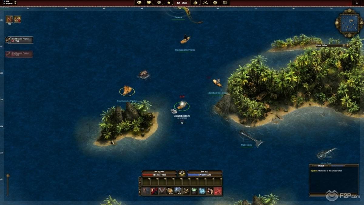 Sur quel site jouer gratuitement à Seafight?